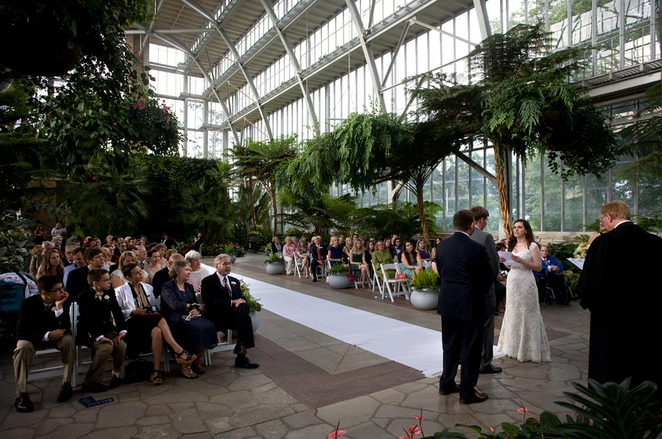 Katie Beth And Gregs Wedding Ceremony Held At The Jewel Box And